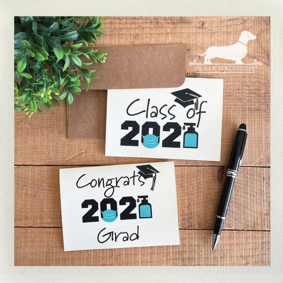 Congrats 2021 Grad. Note Card