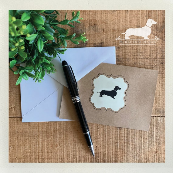 Doxie. Note Card