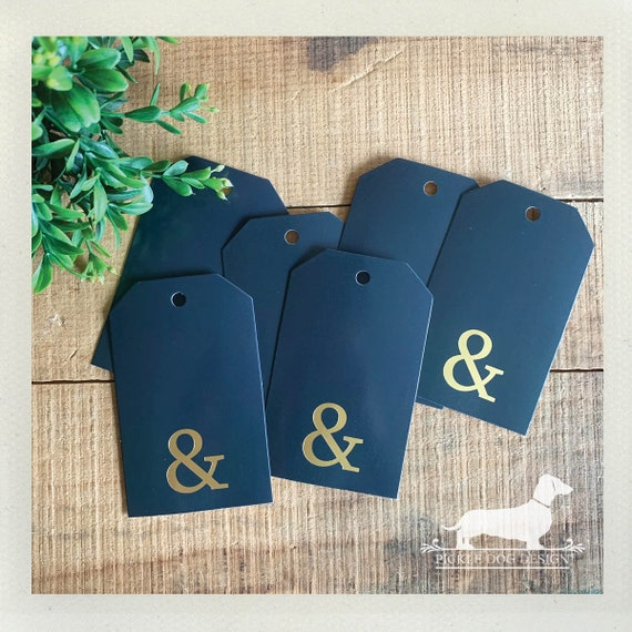 DOLLAR DEAL! Ampersand. Gift Tags (Set of 6)