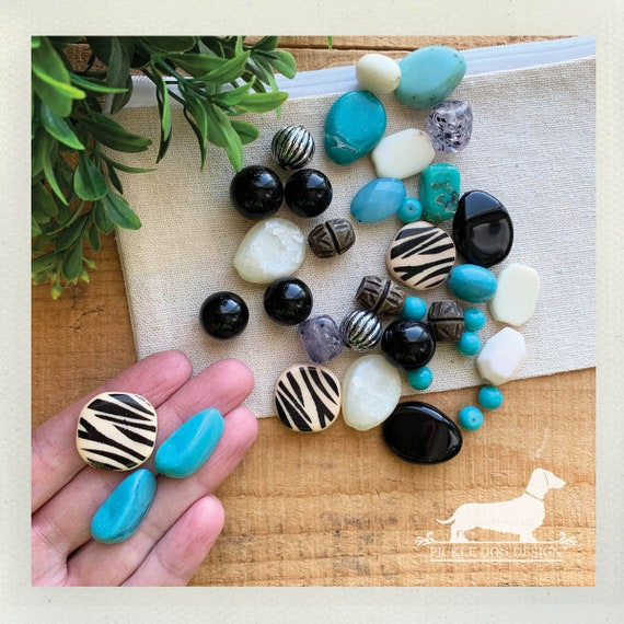LAST CHANCE! Turquoise Tiger Beads