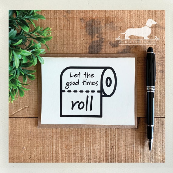 Let The Good Times Roll. Note Card