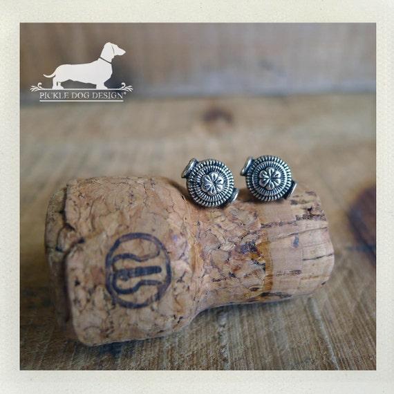 Taffy. Post Earrings