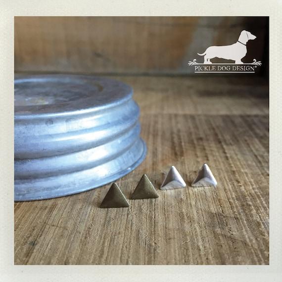 DOLLAR DEAL! Triangle. Post Earrings