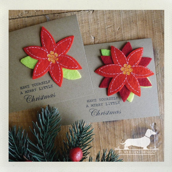 DOLLAR DEAL! Merry Little Christmas. Note Cards (Set of 5)