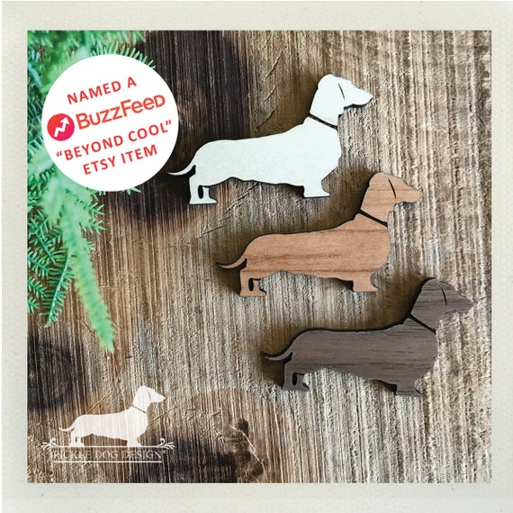 Doxie. Magnets (Set of 3)