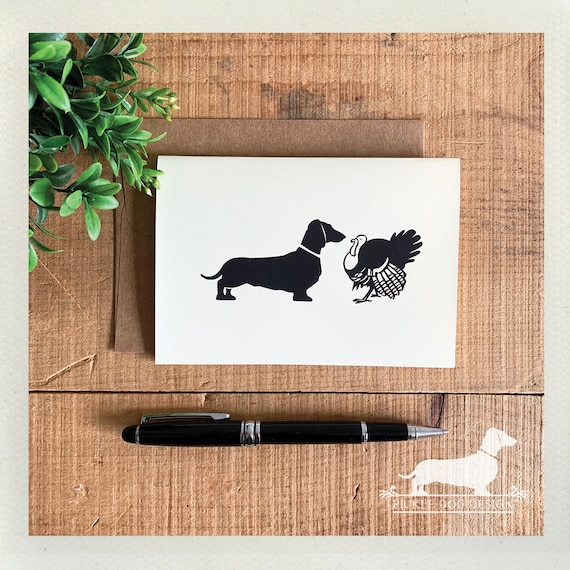 Woof Woof Gobble Gobble. Note Card