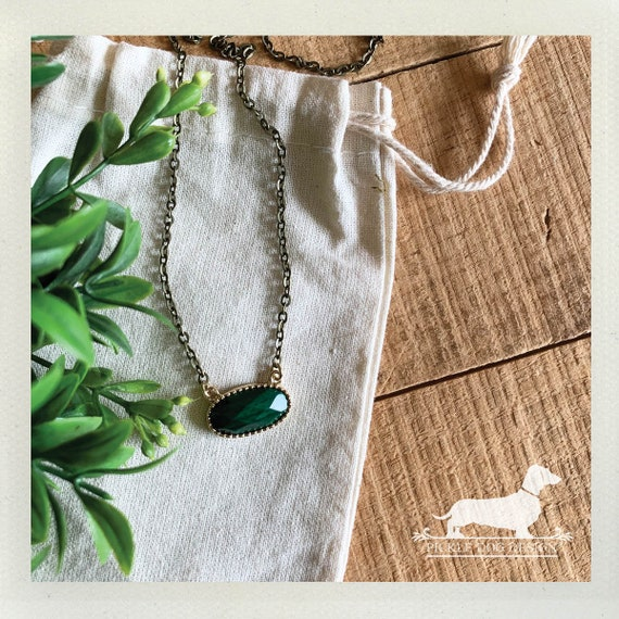 Greenery. Necklace
