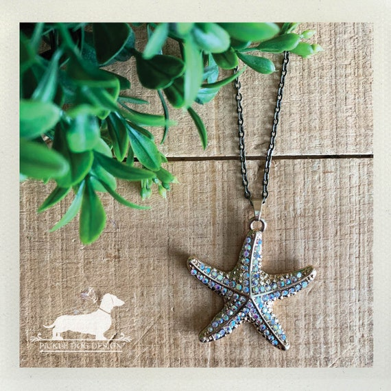 Starfish. Necklace