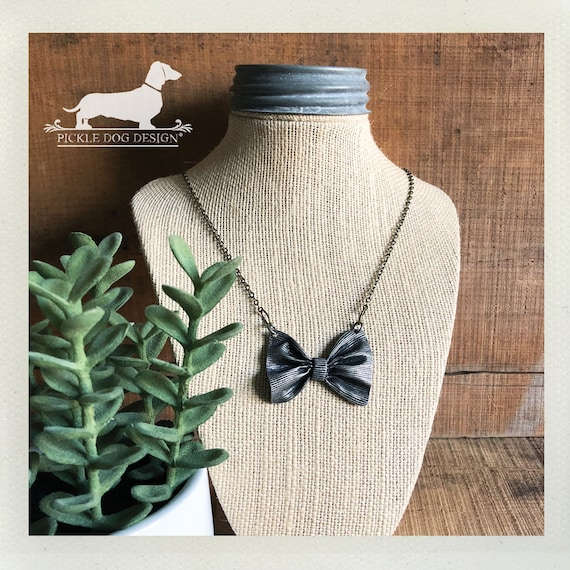 Bow Tie. Necklace