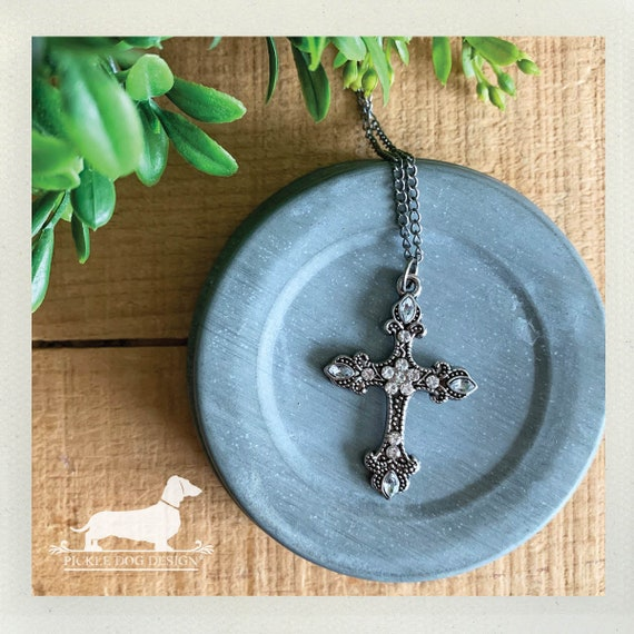 Cross. Necklace