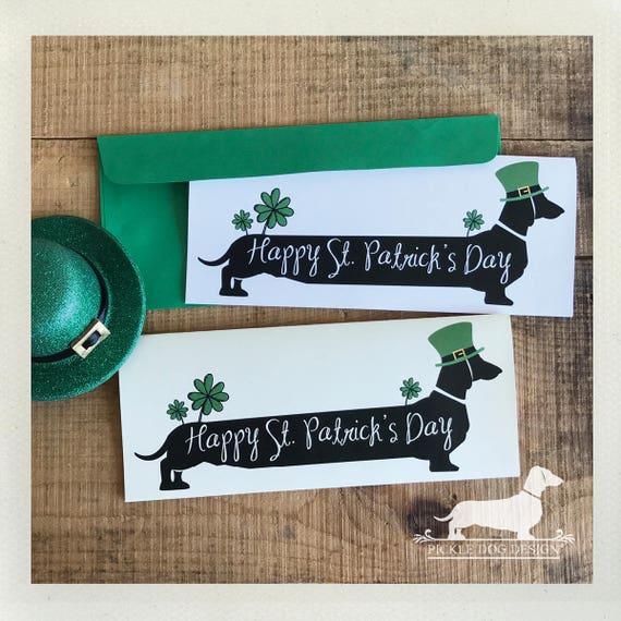 Irish Doxie. Note Card