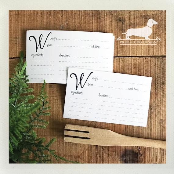 DOLLAR DEAL! W. Recipe Cards (Qty 13)