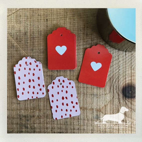 DOLLAR DEAL! Strawberry Heart. Gift Tags