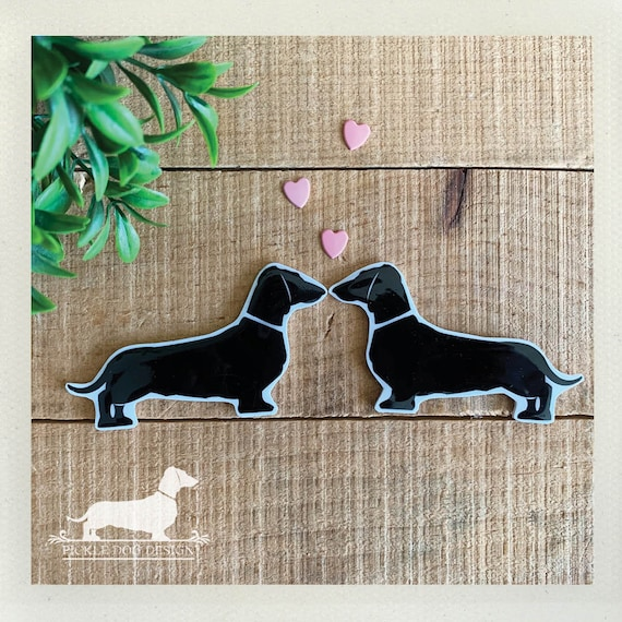 Doxie Love. Magnets (Set of 2)