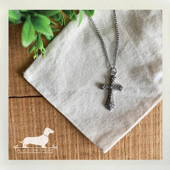 Simple Cross. Necklace