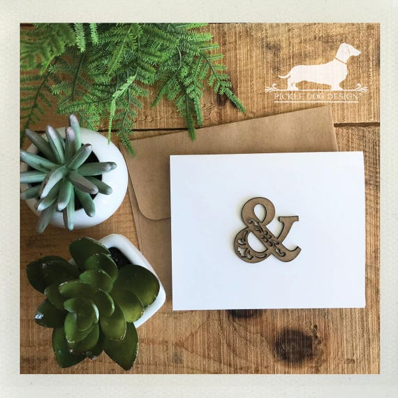 DOLLAR DEAL! Ampersand. Note Card