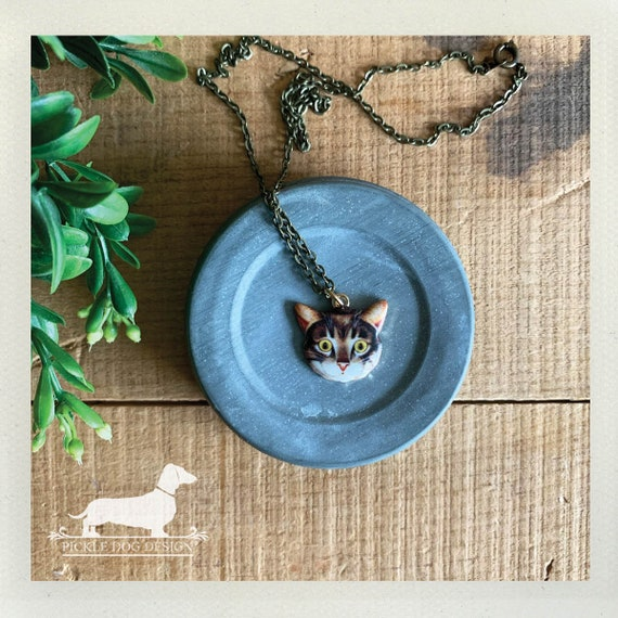 Don't be a Scaredy Cat. Necklace