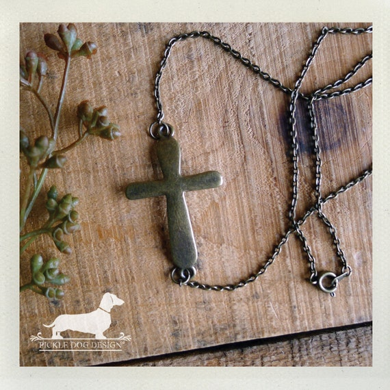 Crossed. Necklace