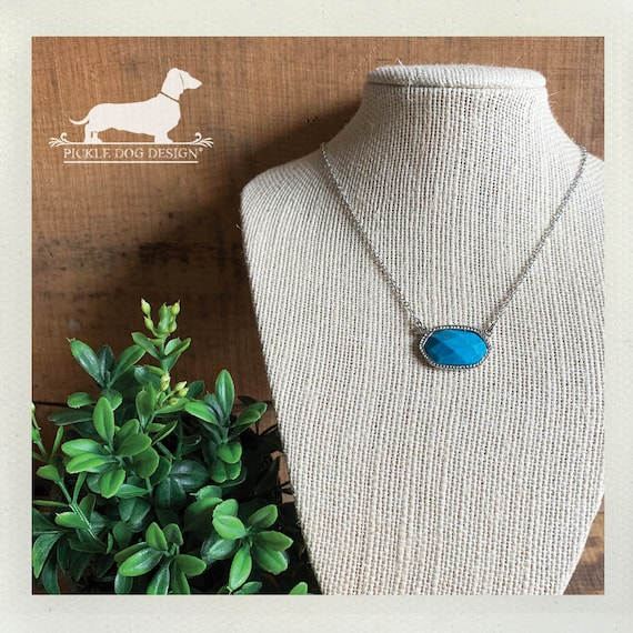 Turquoise. Necklace