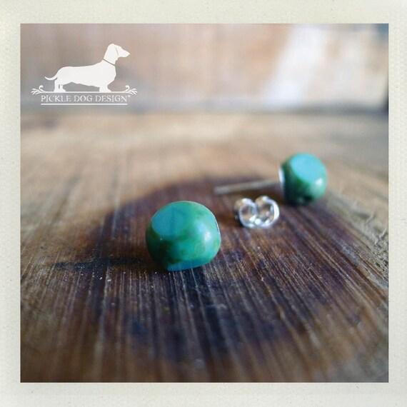 DOLLAR DEAL! Round Mints. Post Earrings
