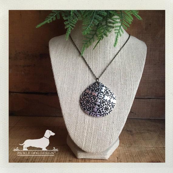 DOLLAR DEAL! Silver Drop. Necklace