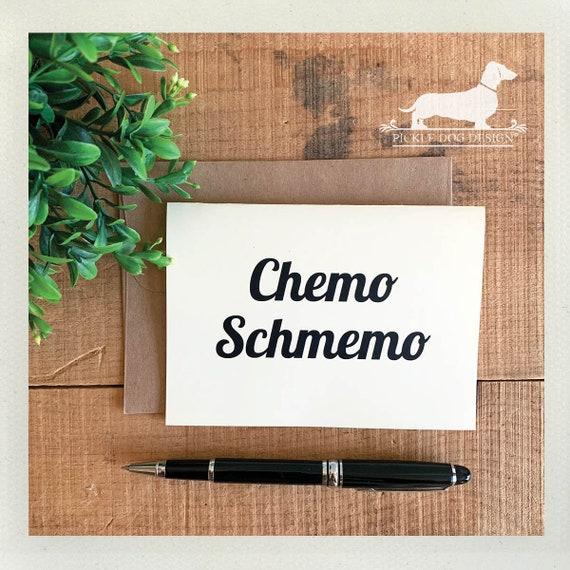 Chemo Schmemo. Note Card