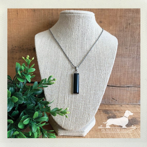 Ebony Bar. Necklace