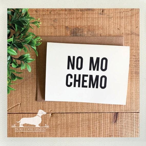 No Mo Chemo. Note Card