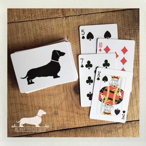 Doxie. Playing Cards