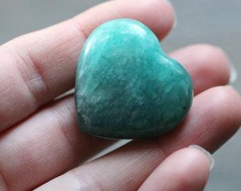 Amazonite Heart Shaped Stone #87134