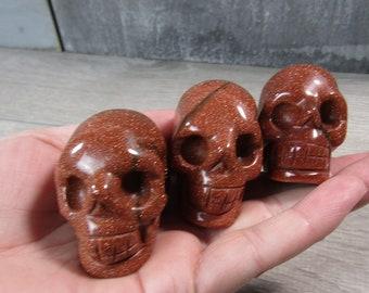 Goldstone Skull Fig 1