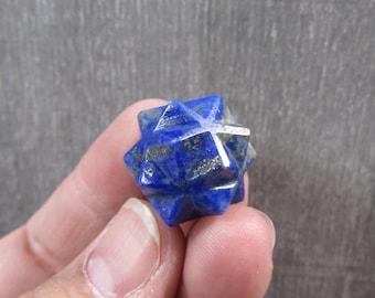 Lapis 20 point Stone Merkaba M 202