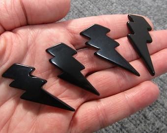 Obsidian Lightening Bolt K411