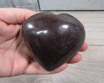 Garnet Heart Large 12.6 ounces #4177 cc
