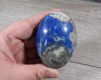 Lapis Lazuli Palm Stone 6.8 ounces  #7378 cc