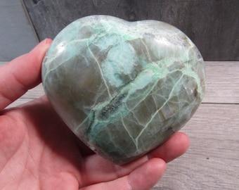 Garnierite Heart 12.3 ounces #4684 cc