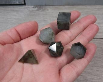 Labradorite Sacred Geometry Boxed Set M116