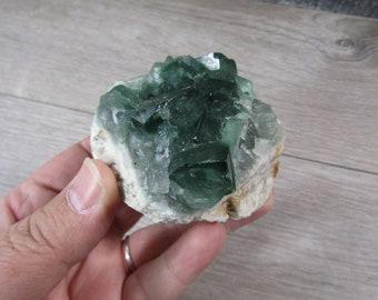 Fluorite Raw 8.8 ounce Stone #8525 cc
