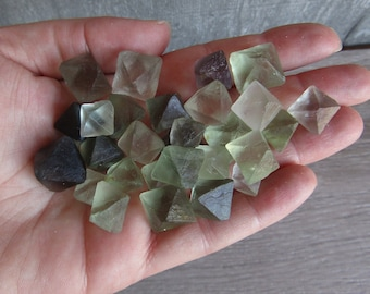 Small Fluorite Octahedron Crystals M53