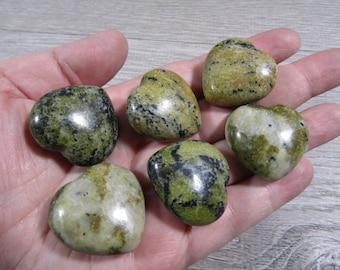 Serpentine Stone Shaped Heart K 386