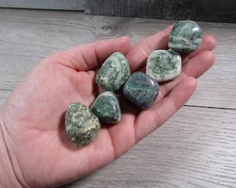 China Jade Large Tumbled Stone T473
