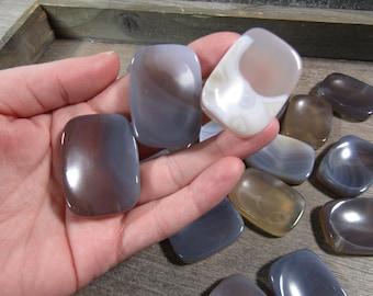 Botswana Agate Worry Stone E90