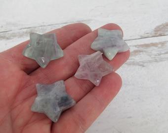 Fluorite Gemstone Star K148