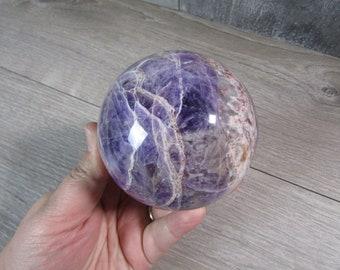 Amethyst Sphere 85 mm 1 Lb 13.9 ounce #8270 cc