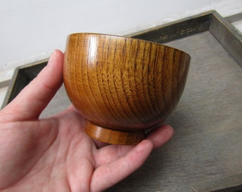 Wood Offering Bowl Q16