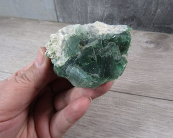 Fluorite Raw 6.1 ounce Stone #7751 cc