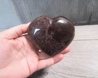 Garnet Heart Large 12.4 ounces #6515 cc