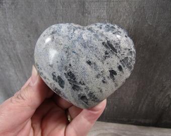 Blue Quartz Heart 7.5 oz # 8029 cc
