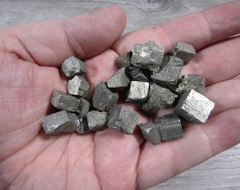 Pyrite Cubic Stone Small / Medium U104