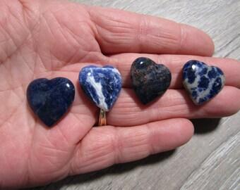 Sodalite Small Shaped Heart K310